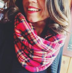 The perfect fall scarf: Rocky Mountain Flannel Scarf