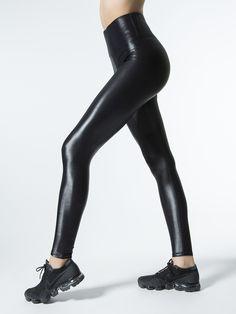 3ebb29c787ace4 High Waisted Takara Leggings in Black by Carbon38 from Carbon38 Velvet  Leggings, Black Leggings,