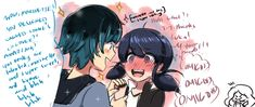 I think Luka's the smooth talking type yet isn't aware of how it makes Marinette nervous around him xD I'm adrienette all the way but Luka is making hard for me to stay loyal ; w ;