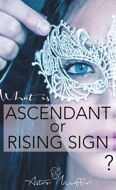 Ascendant / Rising Sign is of great importance and is often considered even more important than the Sun and the Moon. Learn Astrology, Astrology Chart, Scorpio Ascendant, Pisces, Describe Your Personality, Sign Meaning, Different Signs, Astrology Numerology, Moon Signs
