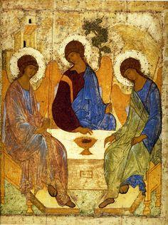 Троица (преп. Андрей Рублев) XV