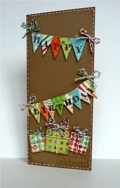 """Stamps and Ink  Gstudio alphabet and sentiment  Stampin Up Chocolate Chip and Close to Cocoa    Paper  My Mind's Eye- Lime Twist """"Fly A Kite""""  Recollections Craft    Embellishments  Trendy Twine- Peppermint Stick, Twisted Lime, Chocolate Truffle, Krazy For Kraft, Sakura White Gel Pen"""