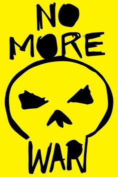 Taber Calderon, Poster: No More War Alphabet City, Vintage Poster, Symbol Design, First Art, Illustrations, Love Design, Graphic Design Art, Flyers, Book Covers