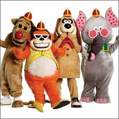 Banana Splits  I'm not saying I actually liked this show.  But I most def liked the theme song