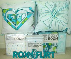 roxy bedroom - Google Search This is the bedding i have in my room! Love it
