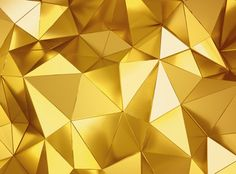 Geometric three dimensional metal background