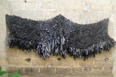 'Black Lace' - Victoria Udondian | Local Artists Textiles, Textile Fiber Art, Local Artists, Paper Cutting, Resin, Layers, Weaving, Victoria, Plastic