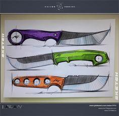 Design from ASLAN чик / KNIVES & DESIGN  /  Mix knives