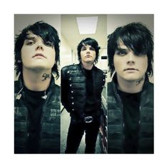 Gerard Fucking Way. ❤ liked on Polyvore