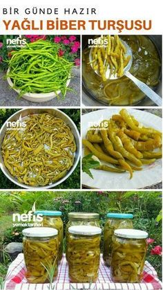 Fatty Thracian Pickles (Quick Pickles) - Köstliche Rezepte - Famous Last Words Quick Pickle Recipe, Vegetarian Recipes, Healthy Recipes, Drink Recipes, Wie Macht Man, Different Vegetables, Date Dinner, Turkish Recipes, Stuffed Hot Peppers