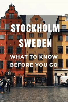 10 Things you should know before you visit Stockholm, Sweden #swedentravel