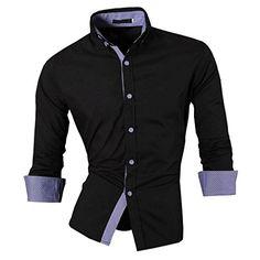 jeansian Herren Freizeit Hemden Shirt Tops Mode Langarmshirts Slim Fit 8507a White L [Apparel] Jeansian http://www.amazon.de/dp/B019EV923G/ref=cm_sw_r_pi_dp_FaMEwb1F4Z8BA