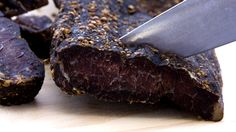 Making quality biltong in your biltong maker. Cut meat into strips, spice and hang the next day for perfect biltong. Authentic Mexican Recipes, Mexican Food Recipes, Dried Meat Recipe, Biltong, Modern Food, South African Recipes, How To Make Sausage, Dehydrated Food, Beef Jerky