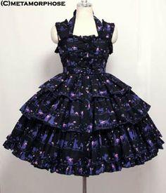 Melody cat フリルジャンパースカート | Metamorphose メタモルフォーゼ ロリィタ(ロリータ)ファッション
