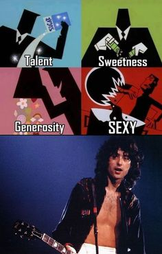 The creation of Jimmy Page!  100% of all <3 <3 <3 <3