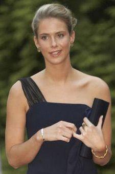 Princess Maria-Annunciata of Liechtenstein, 2nd child and 1st daughter of Prince Nicholas of Liechtenstein and Princess Margaretha of Luxembourg.