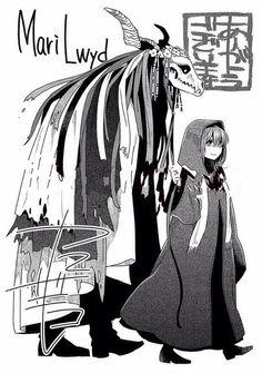 Nanbaka Anime, Anime Kawaii, Anime Comics, Elias Ainsworth, The Ancient Magus Bride, Latest Anime, Scary Art, Manga Drawing, Bungou Stray Dogs