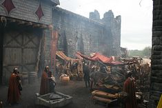 Medieval settings and props. High Fantasy, Medieval Fantasy, Fantasy World, Anders Dragon Age, Hawke Dragon Age, Vila Medieval, Medieval Town, Medieval Times, Captive Prince