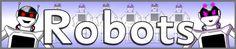 Robots display banner (SB8892) - SparkleBox