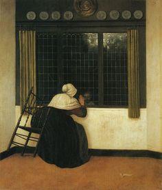 28 октября. Jacob Vrel (fl. 1654 - 1662), was a Dutch Golden Age genre painter.