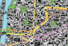 Drawing the Intricate Details of City Life By Hand - CityLab