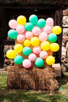 An Insanely Fun Old-Fashioned Carnival Games! Bridesmaids and Groomsmen can set this up. A good way to bond!