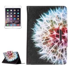 For+iPad+mini+4+Cactus+Pattern+Magnetic+Snap+Leather+Case+with+Holder,+Card+Slots+&+Wallet