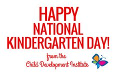 We love our little Kindergartners! #parenting #KindergartenDay2015 #childdevelopmentinstitute