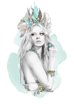 Kelly Smith - fashion illustration