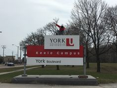 This sign brings back some of the greatest memories I ever have! York University, Great Memories, Ontario, Bring It On, Signs, Shop Signs, Sign