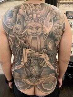 Back Piece Tattoo, Pieces Tattoo, Tattoos, Asia, Back Tattoo, Tatuajes, Tattoo, Puzzle Piece Tattoos, Tattos
