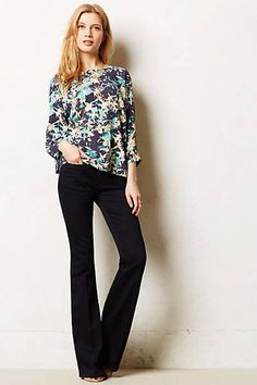 Marrakech flare jeans #anthropologie