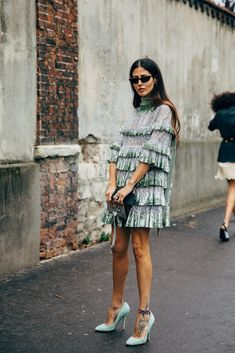 Paris FW 2019 Street Style: Gilda Ambrosio – Summer Outfits – Summer Fashion Tips Fashion Mode, Look Fashion, Fashion Photo, Fashion Beauty, Womens Fashion, Fashion Trends, Paris Fashion, Feminine Fashion, City Fashion