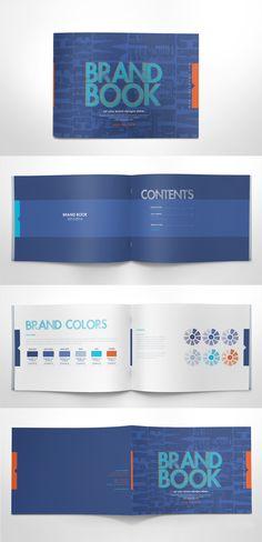 Free Brand Guidelines Template #freepsdfiles #freepsdgraphics #freepsdmockups #freebies