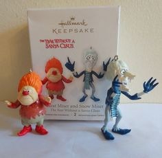 2012 Hallmark Ornaments Heat Miser & Snow Miser Year Without a Santa Claus  | Collectibles, Decorative Collectibles, Decorative Collectible Brands | eBay!
