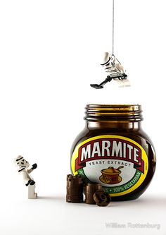 There is something about Lego stormtroopers stealing marmite that really, really amuses me.
