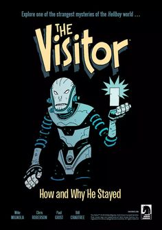 The Visitor 1 Cover