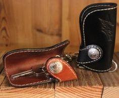 Flying Zacchinis Cooler King - Leather Key Holder
