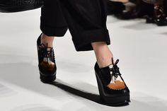 2015 Fall Trend--an in between option for the menswear-inspired shoe--(not a flat and not a high heel)sportmax square