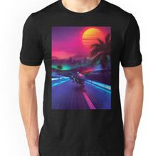 synthwave t-shirt tees