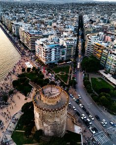 *GREECE ~ Thessaloniki, Greece: is the second-largest city in Greece, /over 1 million inhabitants in its metropolitan area+the capital of Greek Macedonia, the administrative region of Central Macedonia+the Decentralized Administration of Macedonia+Thrace. Macedonia Greece, Greece Thessaloniki, Travel Around The World, Around The Worlds, Greece Photography, Greek Beauty, Greece Travel, Outdoor Travel, Beautiful Places
