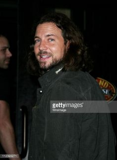 Eddie Vedder of Pearl Jam during Lindsay Lohan Hosts 'Saturday Night Live' - After Party - April 16, 2006 at Heartland Brewery in New York City, New York, United States.