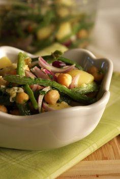 Intrusa na Cozinha: Mediterranean Potato Salad / Salada de Batata Mediterrânea