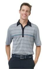 Greg Norman | Mens Golf Shirts | Guanabara Jacquard Polo