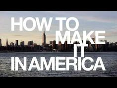 How To Make It In America--Coolest opening credits sequence I've seen to date