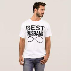BEST HUSBAND EVER T-Shirt - Saint Valentine's Day gift idea couple love girlfriend boyfriend design