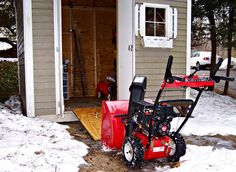 Storing Your Snow Blower | Last Maintenance Tips - Consumer Reports News