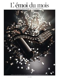 https://www.myfdb.com/editorials/129698-vogue-paris-editorial-l-emoi-du-mois-may-2013 My Fashion Database: Vogue Paris Editorial L' èmoi du mois, May 2013 #block #platform #heel #sandel #embellished #fashion #photography #magazine #editorial #MYFDB