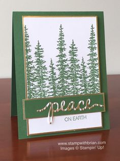 469 best christmas cards images on pinterest christmas cards the wonderland stamp set is used to create this forest of trees in this snowy grove christmas tree cardshandmade christmas cardsstampin m4hsunfo