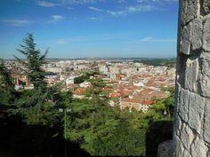 Panorámica de la ciudad de #Burgos desde su castillo. http://www.europeosviajeros.com